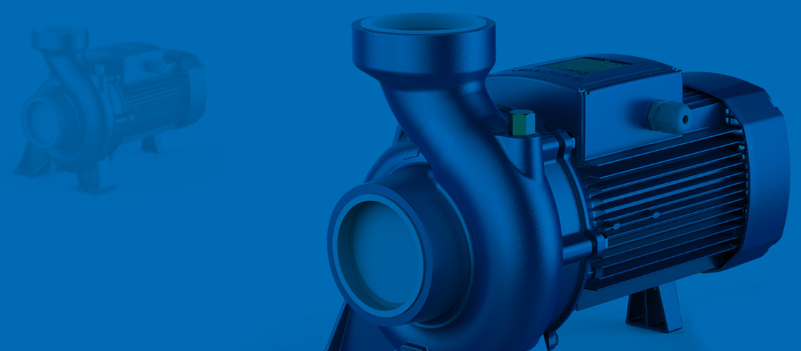 We supply<br>pumping equipment